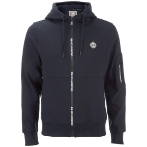 Crosshatch Men's Elsrik Zip Through Hoody - Night Sky Navy