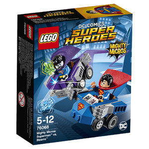 LEGO Superheroes Mighty Micros : Superman™ contre Bizarro™ (76068)