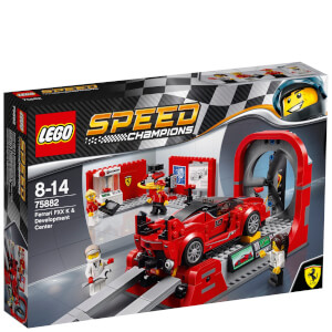 LEGO Speed Champions: Ferrari FXX K & Development Center (75882)