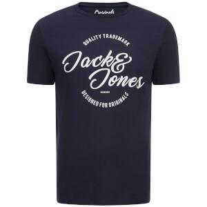 Jack & Jones Originals Men's Raffa T-Shirt - Navy Blazer