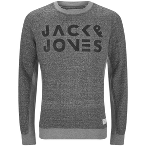 Pull Core Cope Jack & Jones - Gris Clair Chiné