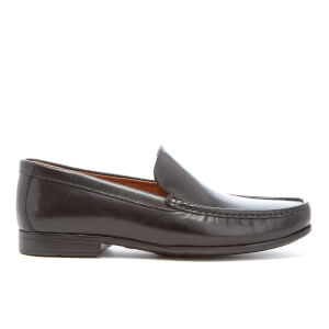 Clarks Men's Claude Plain Leather Loafers - Black