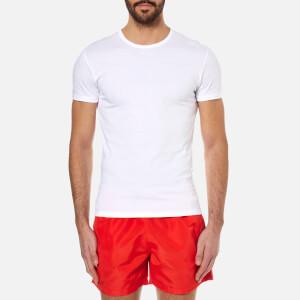 Paul Smith Men's Crew Neck Cotton T-Shirt - White