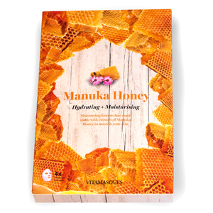 Vitamasques Manuka Honey Hydrating Moisturising Mask (Box of 4, Worth $21)