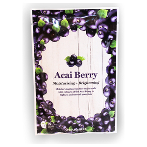 Vitamasques Acai Berry Hydrating Moisturizing Sheet Mask