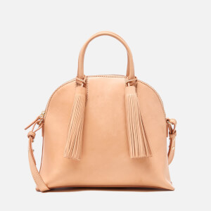 Loeffler Randall Women's Dome Tassel Satchel - Natural
