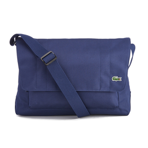 Lacoste Men's Messenger Bag - Navy