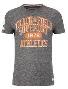 Superdry Men's Trackster T-Shirt - Black Grit