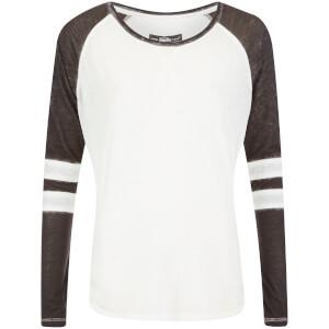 Superdry Women's Essential Burnout T-Shirt - Optic/Black