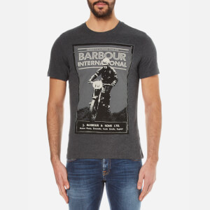 Barbour International Men's Ignition Crew T-Shirt - Charcoal