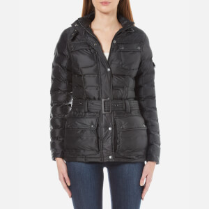 Barbour International Women's International Beam Quilt Jacket - Black