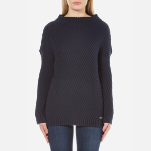 Barbour International Women's Eiko Knitted Jumper - Navy
