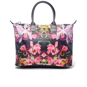 Ted Baker Women's Denise Lost Gardens Nylon Large Tote Bag - Black
