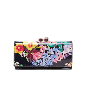 Ted Baker Women's Alsori Lost Gardens Printed Matinee Purse - Black