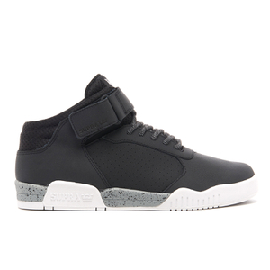 Baskets Homme Ellington Strap Mid Top Supra -Noir