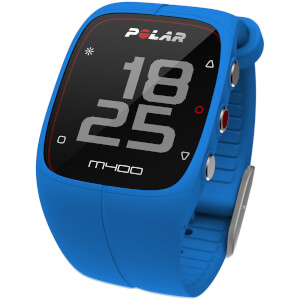 Polar M400 GPS Running Watch - Blue