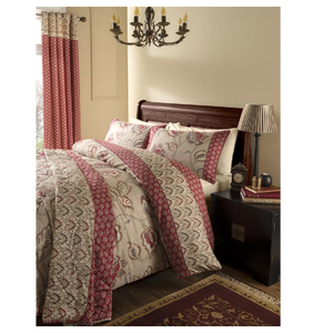 Catherine Lansfield Kashmir Bedding Set - Red