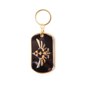 The Legend Of Zelda (Hylian Crest) - Metal Keychain