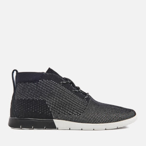 UGG Men's Freamon HyperWeave Treadlite Mid Trainers - Black