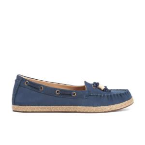 UGG Women's Suzette Nubuck Moccasin Shoes - Marino