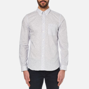 PS by Paul Smith Men's Tailored Fit Long Sleeve Shirt - Multi