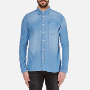 Nudie Jeans Men's Henry Denim Shirt - Diagonal