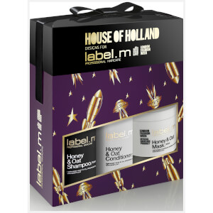 label.m Christmas Honey & Oat Trio (Worth £45.70)
