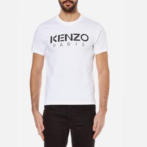 KENZO Men's Kenzo Paris Logo T-Shirt - White