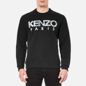 KENZO Men's Python Logo Sweatshirt - Black
