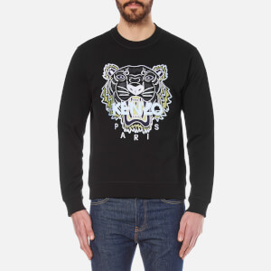 KENZO Men's Embroidered Tiger Sweatshirt - Black