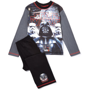 Star Wars Boy's Darth Vader Pyjamas - Grey