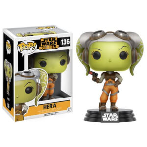 Figura Pop! Vinyl Bobble Head Hera - Star Wars Rebels