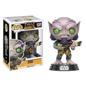 Figura Funko Pop! Zeb Bobble-Head - Star Wars Rebels