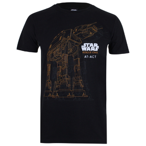Star Wars AT-AT Heren T-Shirt - Zwart