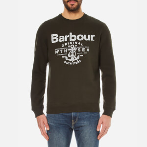 Barbour Men's Denemouth Crew Sweatshirt - Forest