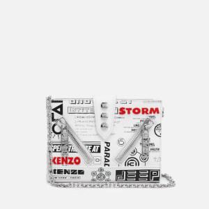 KENZO Women's Kalifornia Wallet on a Chain - White