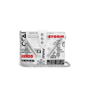 KENZO Women's Kalifornia Wallet on a Chain - White
