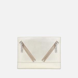 KENZO Women's Kalifornia Clutch Bag - Silver