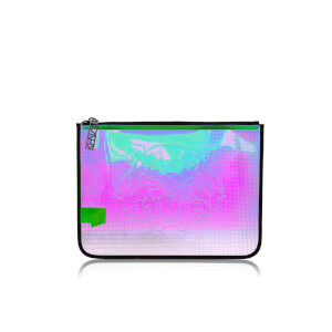KENZO Women's Icons A4 Pouch - Iridescent
