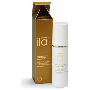 Sérum facial antienvejecimiento celular Gold de ila-spa 30 ml