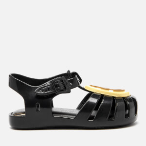 Mini Melissa Vivienne Westwood Toddlers' Aranha Ballet Flats - Black Smiley