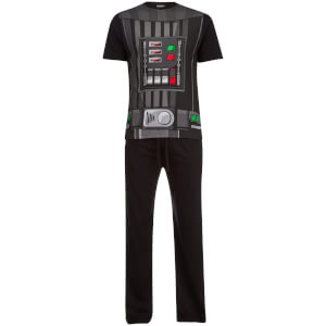 Star Wars Men's Darth Vader Pyjama Set - Black