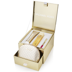 Michael Kors Sexy Amber Eau de Parfum 100ml, Dual Ended Rollerball, Body Lotion and Designed Bag Set
