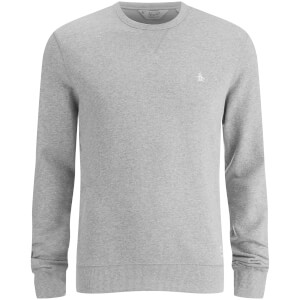 Original Penguin Men's Crew Neck Sweatshirt - Rain Heather