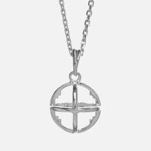 Kiki Minchin Women's The Baby Roxy Cage Necklace - Silver