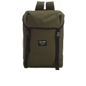 Jack & Jones Men's Textured Rucksack - Camo