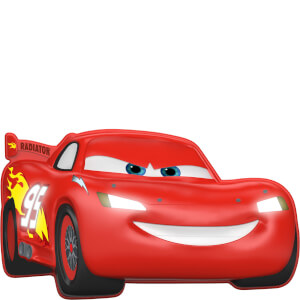 Disney Cars 3D Wall Light - Lightning McQueen: Image 1