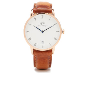 Daniel Wellington Women's Dapper Durham Rose Gold Watch - Tan