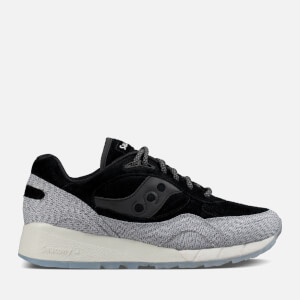 Saucony Men's Grid 6000 CL Heritage 'Dirty Snow II' Trainers - Black/Grey