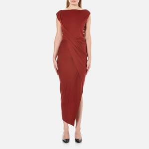 Vivienne Westwood Anglomania Women's Vian Dress - Oxblood